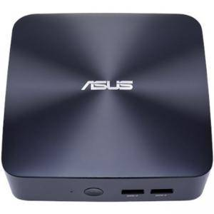 Настолен компютър ASUS Vivo, Intel Core i5-7200U, 2 x So-dimm DDR4, M2 SSD + 2.5HDD, Wi-Fi, AC+BT, No OS, ASUS-PC-UN65U-BM009M