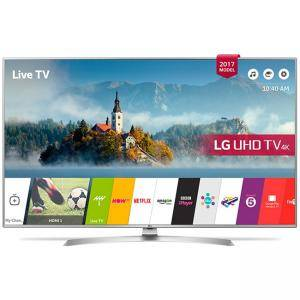 Телевизор LG 43UJ701V, 43 инча, 4K UltraHD TV, 3840x2160, 1900PMI, WiFi, Bluetooth, Miracast, HDMI, USB, 43UJ701V