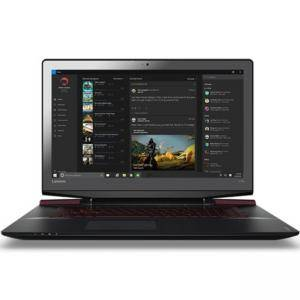 Лаптоп Lenovo Y700, 17.3 инча IPS FullHD, i7-6700HQ, 8GB DDR4 + 1 free slot, 1TB HDD + 128GB SSD, 80Q000ECSM_HEADSET