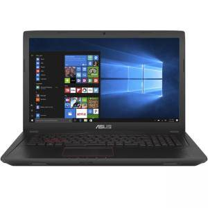 Лаптоп Asus FX753VE-GC093, Intel Core i7-7700HQ, 17.3 инча FullHD IPS AG, 12288MB DDR4 2133MHz, HDD 1TB 7200rpm, 90NB0DN3-M01270