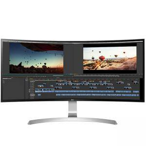 Монитор LG 34UC99-W, 34 инча, 3440 x 1440, HDMI, DisplayPort, USB, Бял, 34 LG 34UC99-W