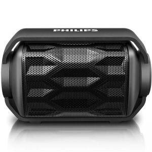Портативна колона Philips, Bluetooth, Wireless,  2.8W, Черна, BT2200B_27