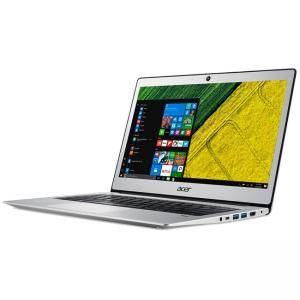 Лаптоп Acer Aspire Swift 1 Ultrabook, Intel Pentium N4200 Quad-Core (2.50GHz, 2MB), 13.3 инча, NX.GNKEX.006