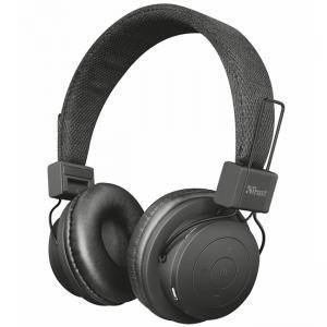 Слушалки TRUST Leva Wireless Bluetooth Headphone, 21754