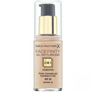 Фондьотен Max Factor, FaceFinity, 3в1 30ml, SPF20, Натурален цвят, 5410076971473