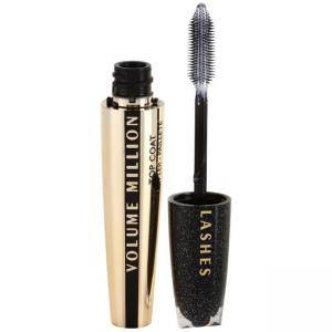 Топ лак за мигли L'Oreal Volume Million Lashes, Top Coat Glitter, Перлен блясък, 9 мл, 3600522481461