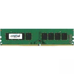 Памет Crucial DRAM 16GB DDR4 2400 MT/s (PC4-19200) CL17 DR x8 Unbuffered DIMM 288pin, EAN: 649528773500, CT16G4DFD824A