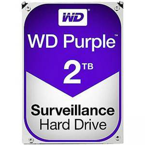 Твърд диск Western Digital Purple, 3.5, 2TB, SATA/600, 64MB cache, WD20PURZ