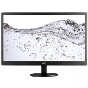 Монитор LED AOC Value-Line E2770SH (27, TN, 16:9, 1920x1080, 1ms, 20M:1,  170/160, 300 cd/m2, VGA, DVI, HDMI, Speakers, VESA), Черен, E2770SH