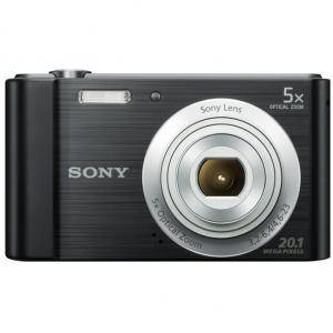 Цифров фотоапарат Sony Cyber Shot DSC-W800 black + Transcend 8GB micro SDHC UHS-I Premium (with adapter, Class 10), DSCW800B.CE3_TS8GUSDU1