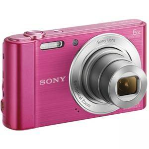 Цифров фотоапарат Sony Cyber Shot DSC-W810 pink + Transcend 8GB micro SDHC UHS-I Premium (with adapter, Class 10), DSCW810P.CE3_TS8GUSDU1