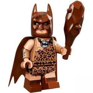 ФИЛМЪТ LEGO БАТМАН идентифицирана минифигурка - Пещерен Батман, LEGO Batman Movie - Clan of the cave Batman, 71017-4