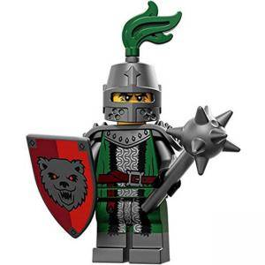 Идентифицирана минифигурка Лего Серия 15 - Страшен Рицар, Lego series 15 - Frightening Knight, 71011-3