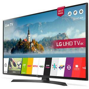 Телевизор LG 55UJ635V, 55 инча, LED, 3840x2160, Smart, 1600 PMI,  55UJ635V