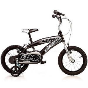 67b02e122e2 Детско колело BMX 14 инча черно, Dino Bikes, 120113890 - Виж цена