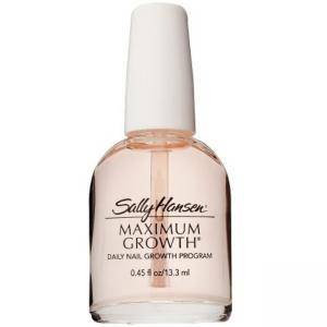 Заздравител за растеж на ноктите Sally Hansen Maximum Growth Daily Nail Program Powerful Protection, Копринен протеин, 13.3 мл, 2115