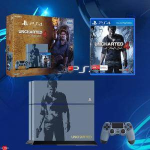 Конзола Sony PlayStation 4 1TB Limited Edition +Uncharted 4: A Thiefs, 1729442-2