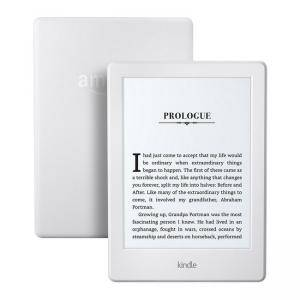 ЧЕТЕЦ ЗА Е-КНИГИ AMAZON KINDLE Glare-Free 6 инча, Touch 4GB (8.GEN), бял,(White) Touchscreen Display, 2016, Wi-Fi E-BOOK READER - WITH SPECIAL OFFERS