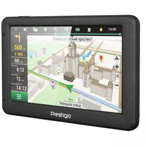 Навигация Prestigio GeoVision 5059 (5.0, TFT, 480х272, Win CE 6.0, CPU MSTAR 2531A 800 MHz, 128 MB RAM, 4 GB internal, FM, 950 mAh, PGPS5059CIS04GBNV