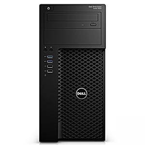 Работна станция Dell Precision T3620 MT, Intel Core i5-7500 (3.8Ghz, 6MB), 8GB 2400MHz DDR4, 1TB SATA HDD, Integrated SATA Controller, #DELL02113