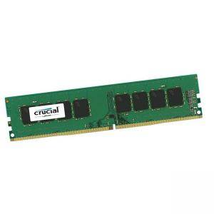 Памет CRUCIAL 16GB DDR4-2666 UDIMM, CL=19, Dual Ranked, x8 based, Unbuffered, NON-ECC, 1.2V, CT16G4DFD8266