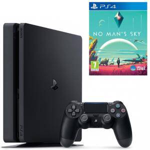 Конзола PlayStation 4 Slim 500GB Black, Sony PS4 + Игра No Mans Sky за Sony Playstation 4