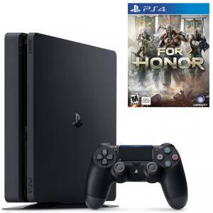 Конзола PlayStation 4 Slim 500GB Black, Sony PS4 + Игра For Honor, За Playstation 4