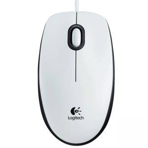 Мишка Logitech Mouse M100 White, 910-005004