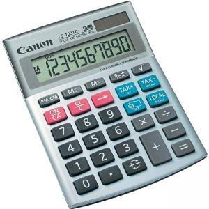 Калкулатор Canon LS-103TC Desk Display Calculator, 1535B004AA