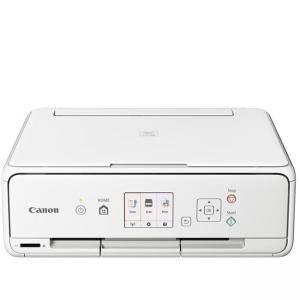 Мастилоструйно многофункционално устройство, Canon PIXMA TS5051 All-In-One, White + Canon F-715D (Black&Blue), 1367C095AA