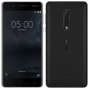 Смартфон NOKIA 5 DS BLACK, 5.2 инча, 1280x720, 3GB, 32GB, 13MP+8MP, Черен