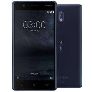 Смартфон NOKIA 3 DS BLUE, 5 инча, 1280 x 720, 8MP+8MP, Android 7.0 Nougat
