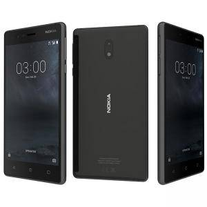 Смартфон NOKIA 3 DS BLACK, 5 инча, 1280 x 720, 8MP+8MP, Android 7.0 Nougat
