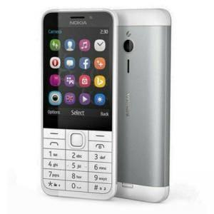 Мобилен телефон NOKIA 230 SILVER, 2MP+2MP, Mini-SIM
