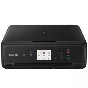 Мастилоструйно многофункционално устройство Canon PIXMA TS5050 All-In-One, Black + Canon F-715SG (Black) EMB HB, CH1367C006AA_5730B001AB