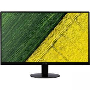 Монитор Acer SA230bid (IPS LED), 23 инча, Wide IPS Anti-Glare, ZeroFrame, 4 ms, 100M:1, 250 cd/m2, 1920x1080 FullHD, VGA, DVI, Черен, UM.VS0EE.002