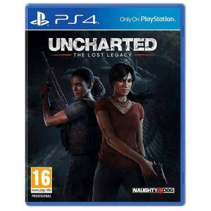 Игра Uncharted The lost Legacy за PlayStation 4