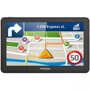 Навигация GPS Prestigio GeoVision 7059, 7 инча (800-480) TN display, WinCE 6.0, 800Mhz MSB2531 cortex A7, 256MB DDR, Тъмно сив, PGPS705900008GB00