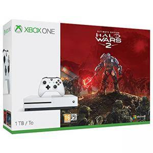 Конзола за Xbox One S 1TB + Halo Wars 2: Ultimate Edition