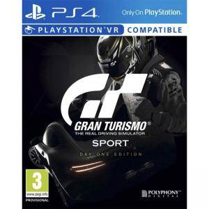 Игра Gran Turismo: Sport (Day One Edition) за Playstation 4