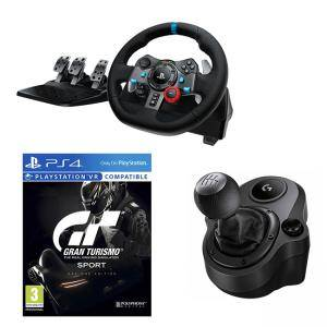 Волан Logitech G29 Driving Force Racing Wheel for PlayStation 4, PlayStation 3 and PC, 941-000112