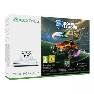 Конзола Xbox One S 500GB Konsole - Rocket League Bundle