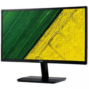 Монитор Acer KA251QAbidx, 24.5 инча Wide TN LED Anti-Glare, ZeroFrame, 5 ms, 100M:1 DCR, 250 cd/m2, Full HD 1920x1080, VGA, DVI, HDMI, Черен, UM.KX1EE.A01
