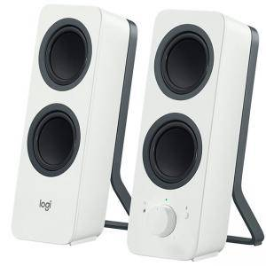Тонколони Logitech Z207 Bluetooth Computer Speakers - Бели, 980-001292