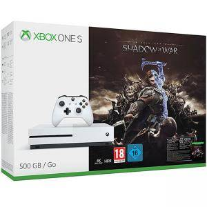 Kомплект Xbox One S 500GB + игра Shadow of War