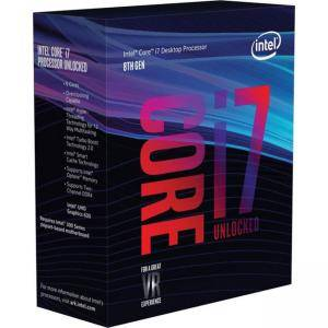 Процесор Intel CPU Desktop Core i7-8700K (3.7GHz, 12MB,LGA1151) Box, BX80684I78700KSR3QR
