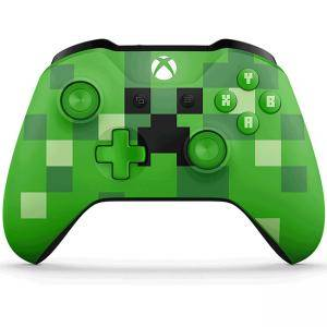 Геймпад Xbox Wireless Controller - Minecraft Green Limited Edition