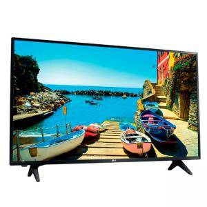 Телевизор LG 32LJ500V, 32 инча LED HD TV, 1920x1080, DVB-T2/C/S2, 200PMI, USB, HDMI, CI, Built in Game, Digital Recording, 2 Pole Stand, Черен, 32LJ500V