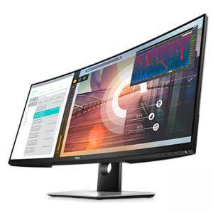 Монитор Dell P3418HW, 34 инча Curved LED IPS Anti-Glare, R3800, 5ms, 1000:1, 300 cd/m2, 2560x1080 WFHD, 99% sRGB, HDMI, DP, USB 3.0 Hub, Speakers, Dell P3418HW