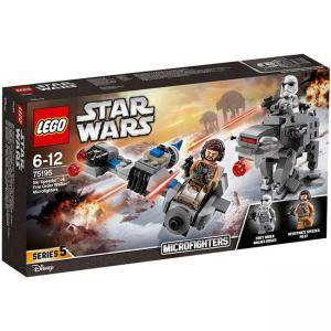 Конструктор ЛЕГО СТАР УОРС - Ski Speeder vs. First Order Walker Microfighter, LEGO Star Wars, 75195